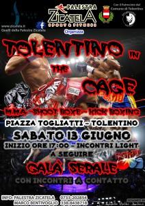 Tolentino in the Cage