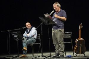 Riondino-Vergassola-MG-Marcheguida-Marche spettacolo-TAU-Teatri Antichi Uniti
